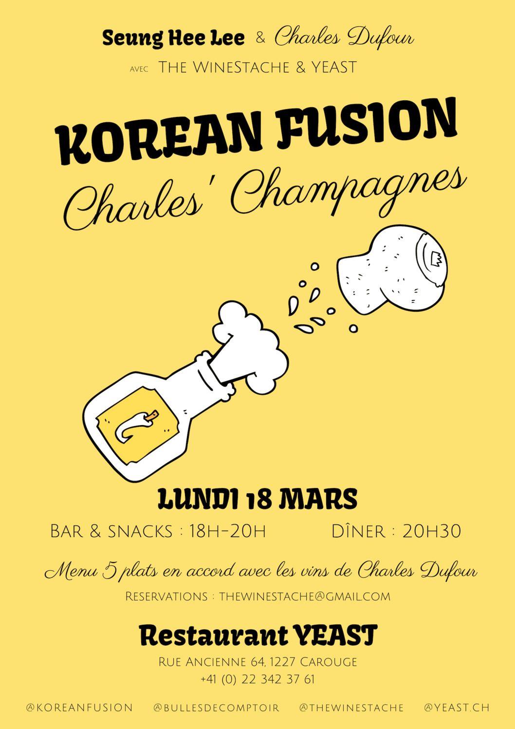 Korean fusion & Charles  Dufour